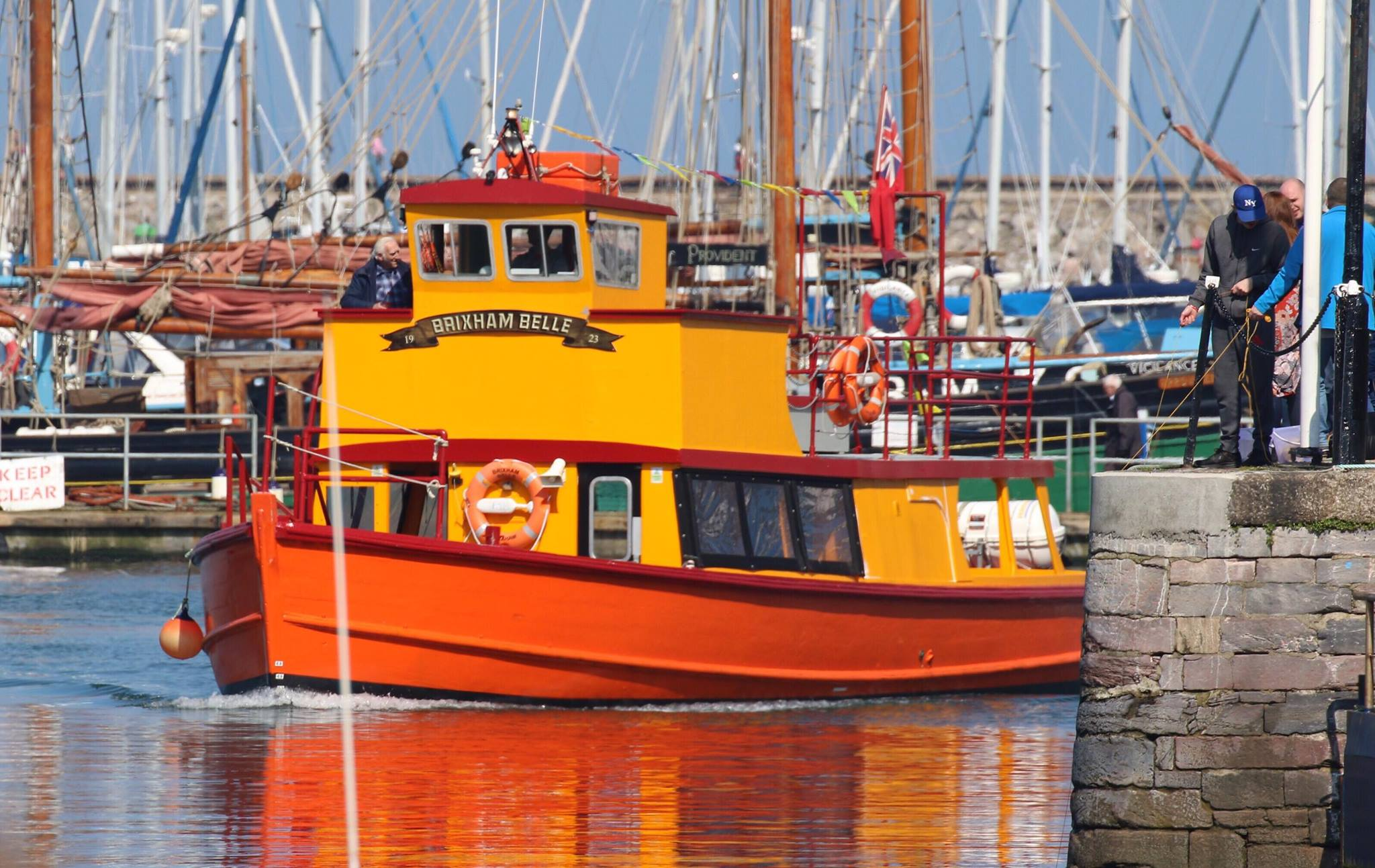 Brixham Belle - Torbay to Teignmouth