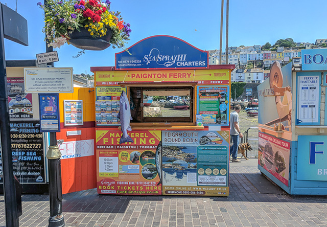 Funfiah Trips - Brixham Kiosk