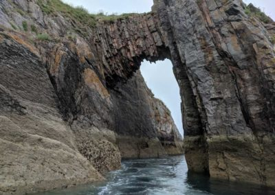 Natural Arch, also known locally as London Bridge...