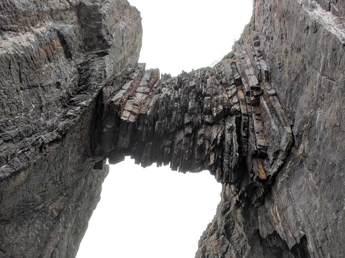 """Natural Arch"" from below"