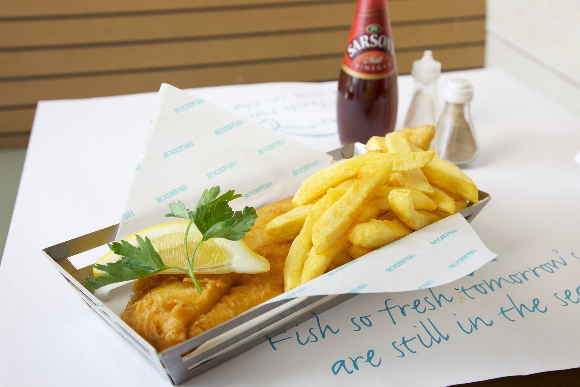Rockfish; Fresh Fish & Chips